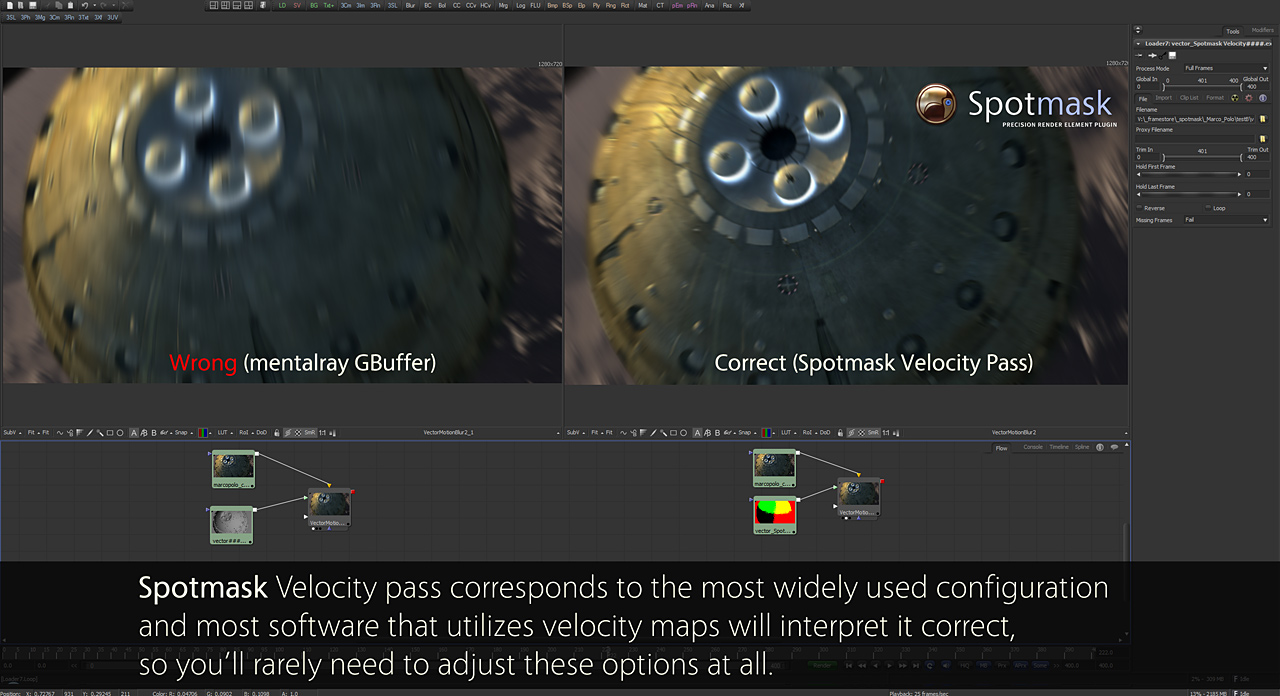 Spotmask Velocity P For Fast Motion Blur In Nuke Fusion And Ae