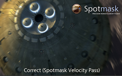 Spotmask: New velocity pass added!