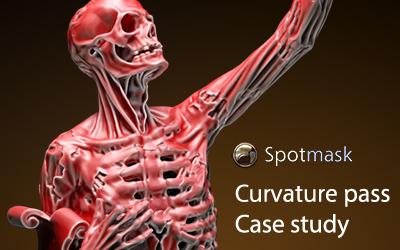 Spotmask Curvature: case study