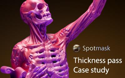 Spotmask Thickness: case study