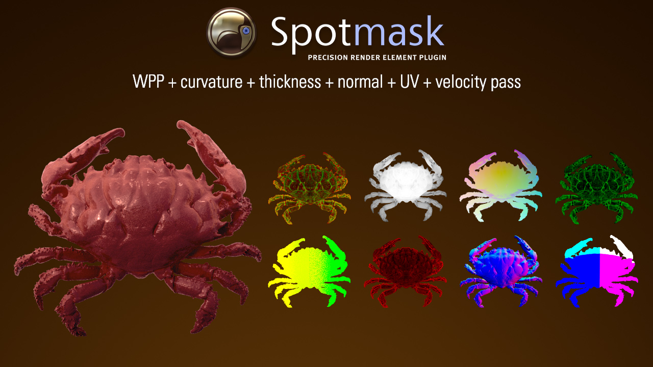 Spotmask is ready for Autodesk 3ds Max 2018!   Spotmask